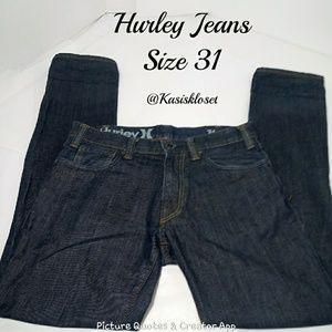 Hurley Men's Jeans Size 31 EUC